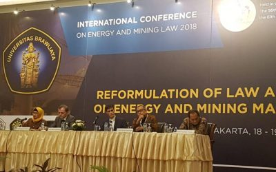 International Conference On Energy and Mining Law 2018