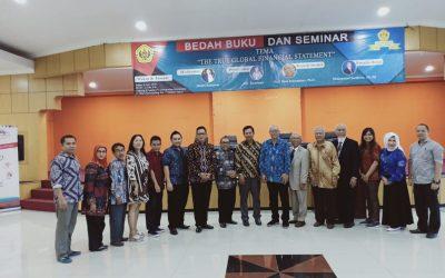 """Bedah Buku dan Seminar """"The True Global Financial Statement"""""""